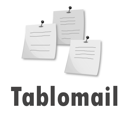 TABLOMAIL - Un tableau d'affichage virtuel qu'on met à jour par email!